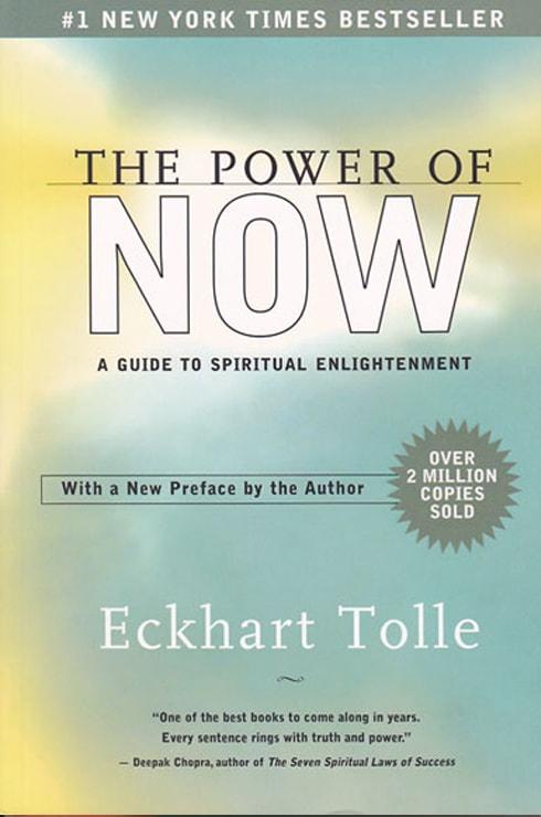 Eckhart Tolle's book The Power of Now | Spiritual Books & Films Online Shop #1 | Open Sky Press DE